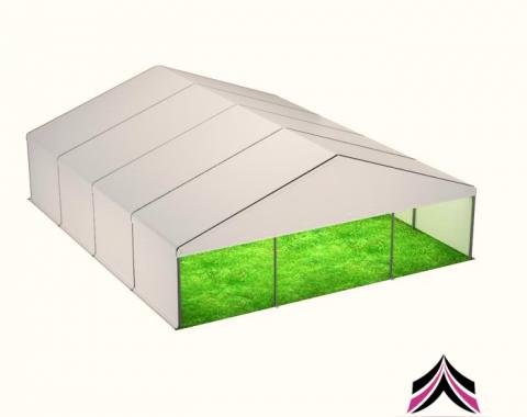 Modulinio paviljono nuoma 9x12