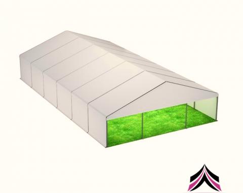Modulinio paviljono nuoma 9x18